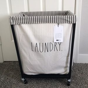 Rae Dunn Storage & Organization - Rae Dunn laundry hamper